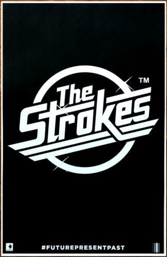 THE STROKES Future Present Past Ltd Ed RARE POSTER +FREE Rock Punk Indie Poster!