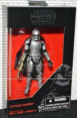 "Hasbro Star Wars The Force Awakens 3.75"" Black Series Figure Captain Phasma"