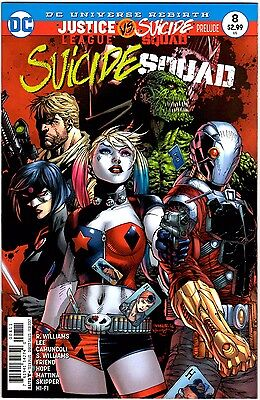 Suicide Squad 8 DC Comics Rebirth 2017 NM