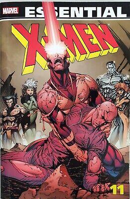 Marvel Essential X-Men Volume 11 By Marvel Comics Claremont