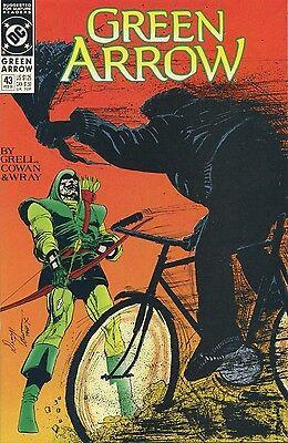 1990-92 GREEN ARROW #43-59 ( ASSORTED SET OF 10 ISSUES )   DC COMICS  VF+