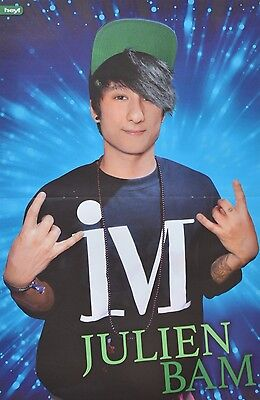 JULIEN BAM - A3 Poster (ca. 42 x 28 cm) - YouTube Star Clippings Fan Sammlung