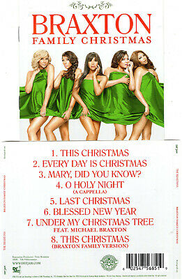 THE BRAXTONS - BRAXTON FAMILY CHRISTMAS  (CD 2015) NEW       8 TRACKS ()