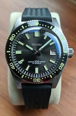 Seiko 62 mas Automatic divers Watch San Martin Homage