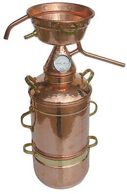 Dr. Richter 3L High-End Alquitara Destille mit Kolonne/Thermometer 3 Liter
