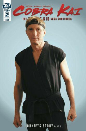 Cobra Kai: The Karate Kid Saga Continues #2 photo cover variant - NM or better