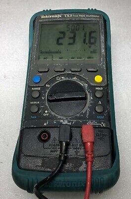 Tektronix Tx3 True Rms Digital Handheld Multi Meter