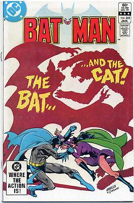 BATMAN #355 (DC 1983) VF+ FIRST PRINT BAGGED