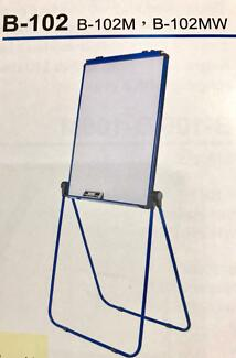 Double sided flip chart white board magnetic or non magnetic