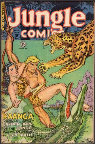 Jungle Comics #139 July  1951 4.0 VG.