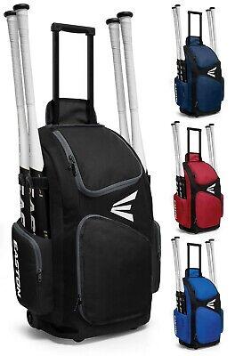 Equipment Wheel Bag - Easton Traveler Stand Up Wheeled Baseball/Softball Equipment Bag A159901