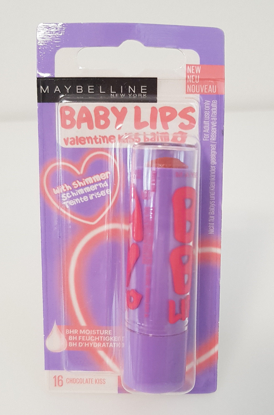 Maybelline Baby Lips  Lippenbalsam Lippenpflege Balsam 16 Chocolate Kiss  Neu
