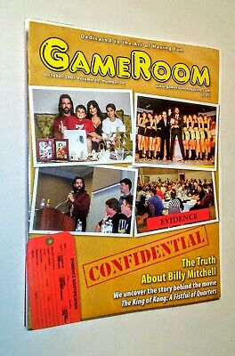 GAMEROOM  OCT 2007 BILLY MITCHELL THE KING OF KONG VF