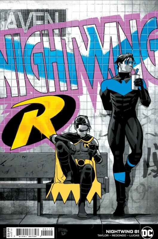 Nightwing #81 Second  Print Full Heartless App DC Comic NM