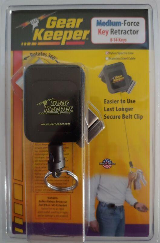 Gear Keeper RT4-5851-E Medium Force Key Retractor Belt Clip 36 inches Long