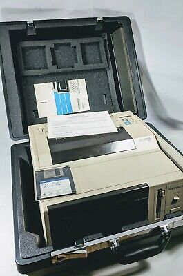 Magnavox Video Writer 250 Vtg Word Processor Printer Works Whard Case Manual