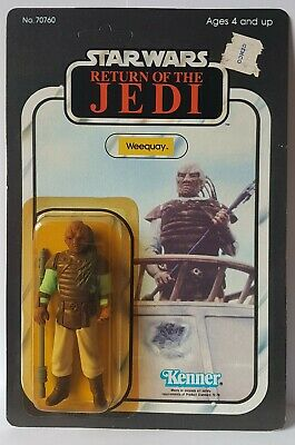 Star Wars Vintage Kenner ROTJ Weequay 65a MOC Return of the Jedi action figure