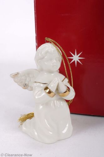 40bffe04c3e Mikasa Porcelain Angel Christmas Ornament Praying Angel 3.5