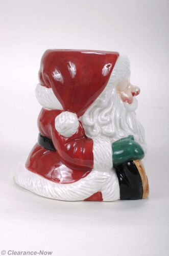 6756ef3c90c Fitz   Floyd Santa Candle Holder Adorable 5