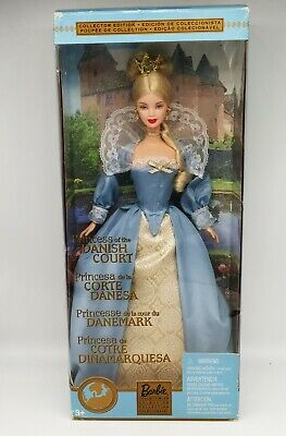 Rare 2002 Princess Of The Danish Court  Barbie doll - collector's edition - new