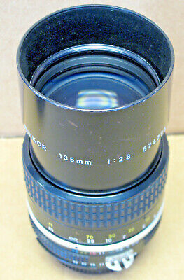 NIKON NIKKOR 135mm 1:2.8 AI-S Lens (USED)