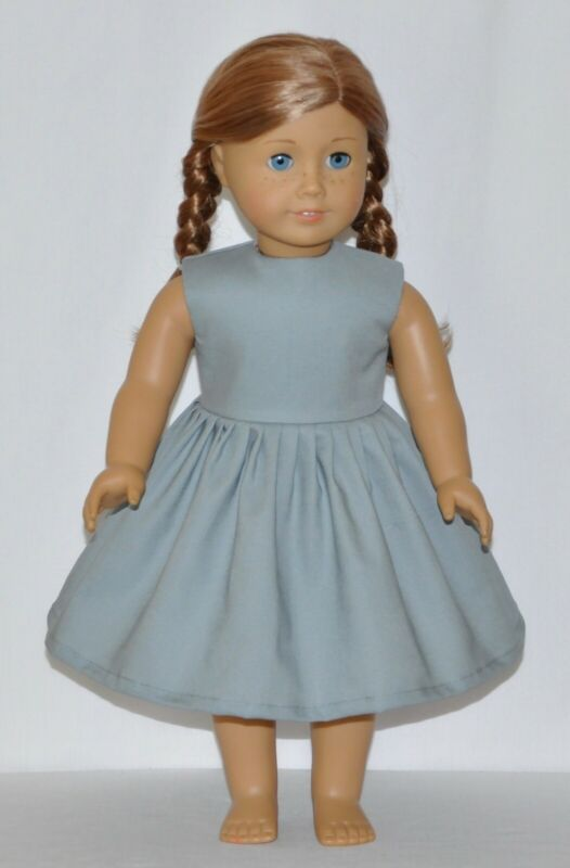 Doll Clothes 18 Inch Dress Teal Yellow Pink White Fits American Girl Dolls
