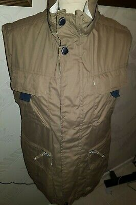 MENS BAILEYS EXTREME CAPE NORTH FISHING HUNTING SHOOTING HOODED GILET SIZE 44""