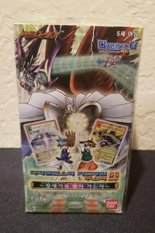 Korean Old Digimon Card Game Booster 23 30 ×Packs 1Box