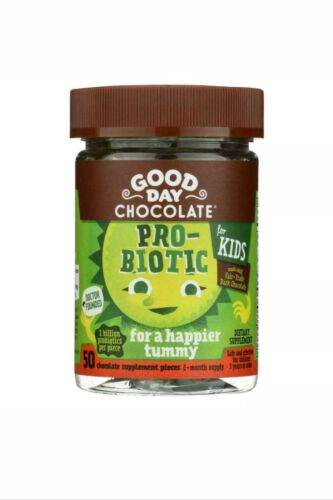2 pack Good Day Chocolate - Probiotic Supplement for Kids -