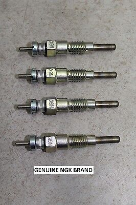 Set Of 4 743 Bobcat Fast Heat Ngk Glow Plugs 643 V1402 V1702 V1902 Diesel