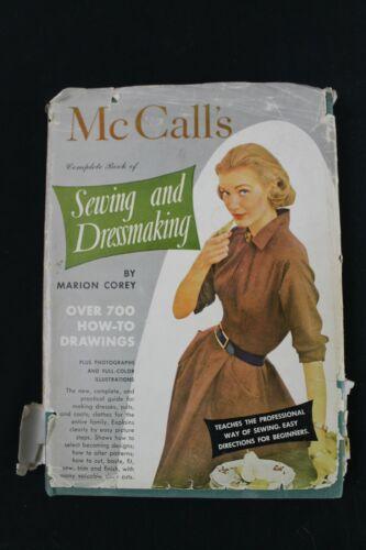 VTG 1951 McCalls Sewing & Dressmaking Book Circle Skirts Fit & Flair Fashion