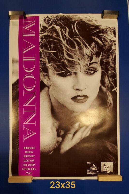 Rare 1980s Madonna Poster