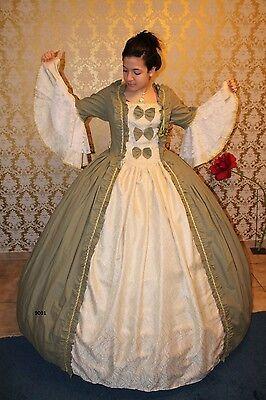 Barock Kostüm, Rokoko Kleid , Südstaatenkleid- Ballkleid Gr.34-52 lieferbar - Rokoko Kleid Kostüm