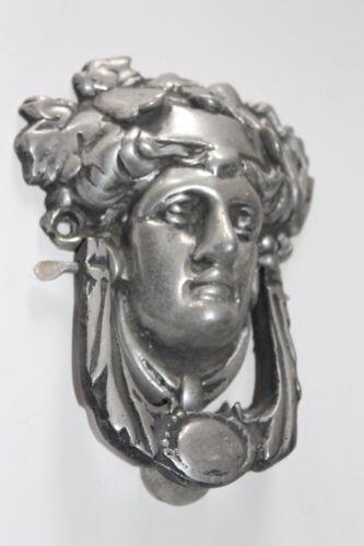 Goddess Door Knocker cast metal - pewter antique finish