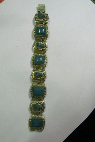 Vintage Mexico bracelet with stones  # 99