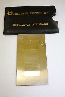 Precision Devices Inc. Calibration Reference Standard Pdr-8 Sn8853 Pn114