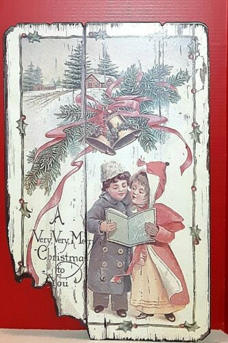 """Aged Look"" A Very, Very Merry Christmas to You Wall Plaque"