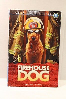 Firehouse Dog - Paperback Beginning Reader Book for Children Level 3