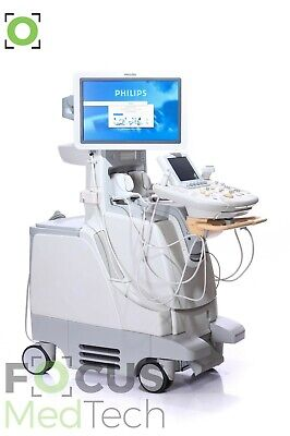 Philips Iu22 Ultrasound Machine F.3 W C9-4 L9-3 Transducers