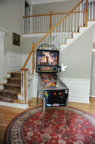 Spectacular! ADDAMS FAMILY Collector Pinball MACHINE clean!! New Playfield! Wow