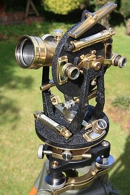 Vintagetheodolitesurveyors Watts Transit Surveying Instrument Antique.