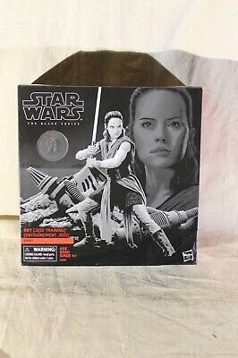 """Star Wars The Black Series Rey Jedi Training Toys R Us Exclusive New Unopened 6"""""""