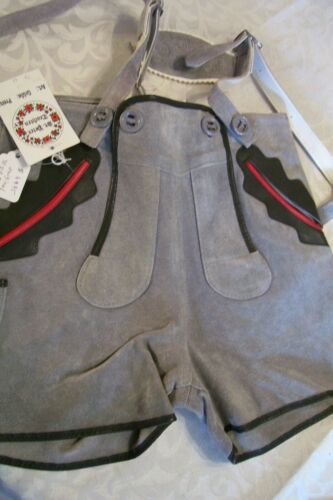 NEW! Baby,Boy, US sz 6,Germany,Trachten,Ledehosen w.Suspenders.St.Peter Trachten