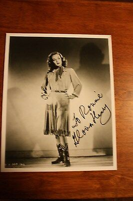 GLORIA HENRY Hand Signed Autographed Western 8 X10 PHOTO - with free shipping
