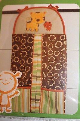 Collection Baby Diaper Stacker - Kidsline Rainforest Collection Diaper Stacker for Baby Nursery Animal Jungle NEW