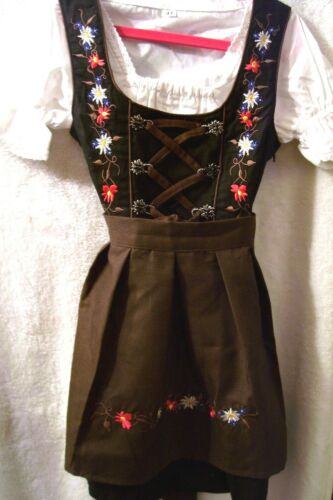 NEW! US sz 13 Girls,Kids Germany,German,Trachten,Oktoberfest,Dirndl Dress,3-pc