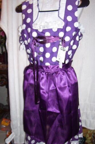 Girls,Kids,US size 12,Germany,German,Trachten,May,Oktoberfest,Dirndl,2-pc.Purple
