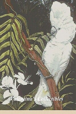Cockatoo Counted Cross Stitch Chart #2-363-3