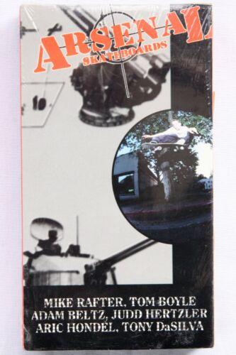 RARE Arsenal Skateboards LOADED Skate video, VHS, NEW NOS SEALED