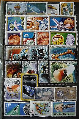 Motive Luftfahrt/Raumfahrt, kleine Sammlung (2 Bilder)